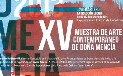 DMENCIA Javier Artero presenta LA DISECCIÓN LÚCIDA