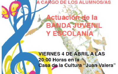 Concierto de Primavera de la Escuela Municipal de Música