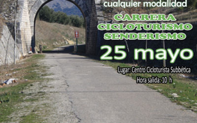 25 de mayo día Nacional de las Vías Verdes