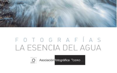Exposición fotográfica «La Esencia del Agua»