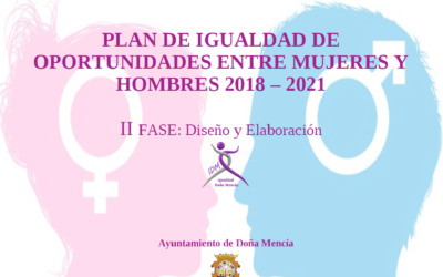 I Plan de Igualdad de Oportunidades de Doña Mencía
