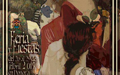 Cartel de la feria y fiestas en honor a San Pedro Mártir, Patrón de Doña Mencía 2019